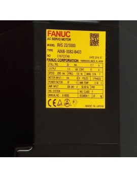 90%New  FANUC A06B-0082-B403 AC Servo Motor in Good Condition
