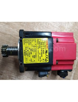 Used FANUC A06B-0114-B075#0008  A06B-0114-B075  SERVO MOTOR In Good Condition