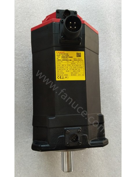 Used FANUC Servo Motor A06B-0077-B403 Tested ok