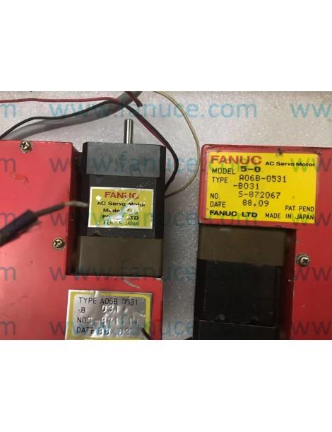USED Fanuc A06B-0531-B031 servo motor In Good Condition